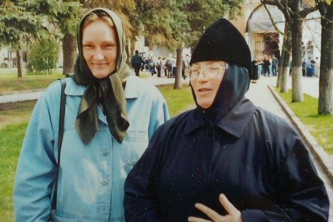 Ольга Шукшина в монастыре