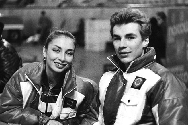 Александр Жулин и Майя Усова
