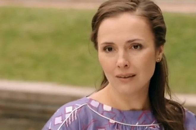 Елена Панова (Кадр из сериала «Челночницы»)