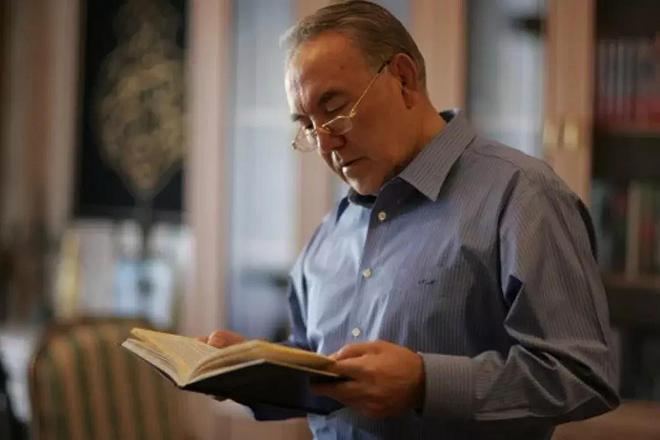 Нурсултан Назарбаев - автор книг