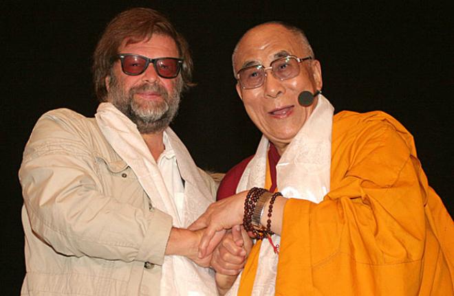 Борис Гребенщиков и Далай-лама
