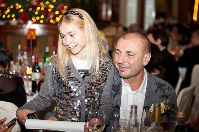 Александр Жулин и дочь Саша