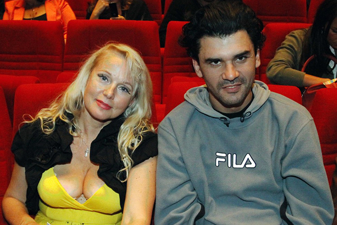 Елена Кондулайнен с бывшшим мужем Дмитрием