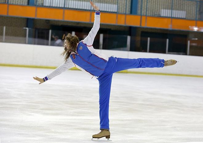 Этери Тутберидзе на льду
