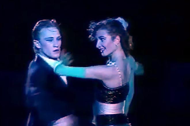 Этери Тутберидзе в составе балета на льду