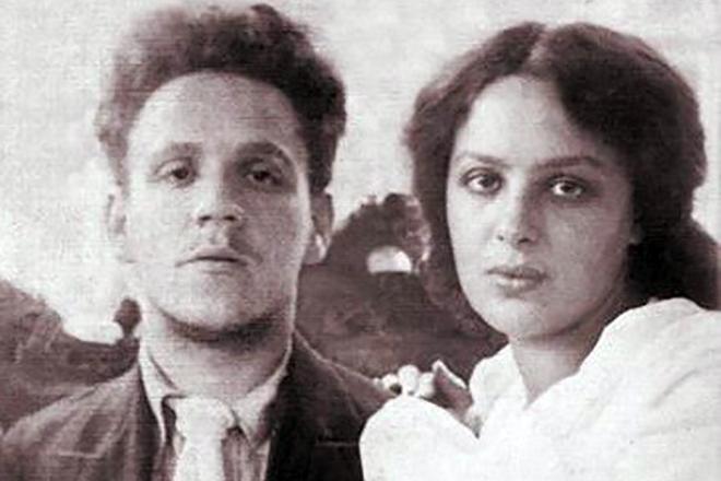 Самуил Маршак и его жена Софья