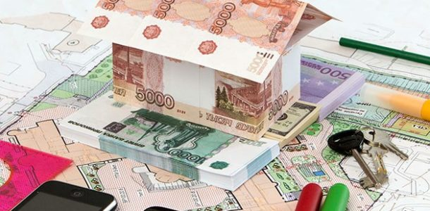 дом из денег