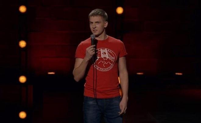 Алексей Щербаков в шоу «Stand Up»