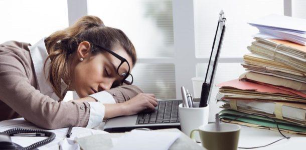 пониженная работоспособность и активность,