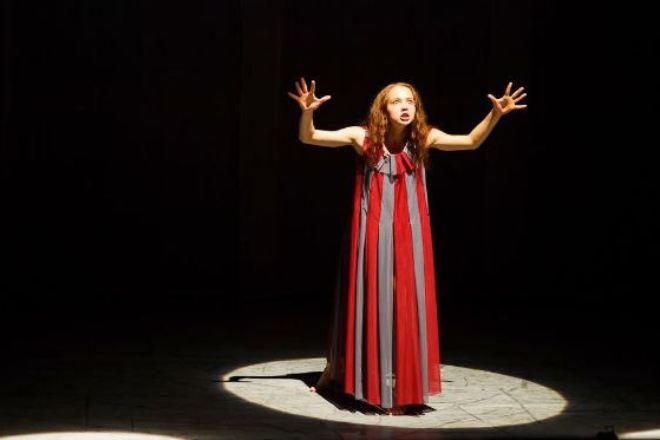 Юлия Хлынина в театре
