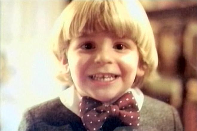 Брэдли Купер в детстве