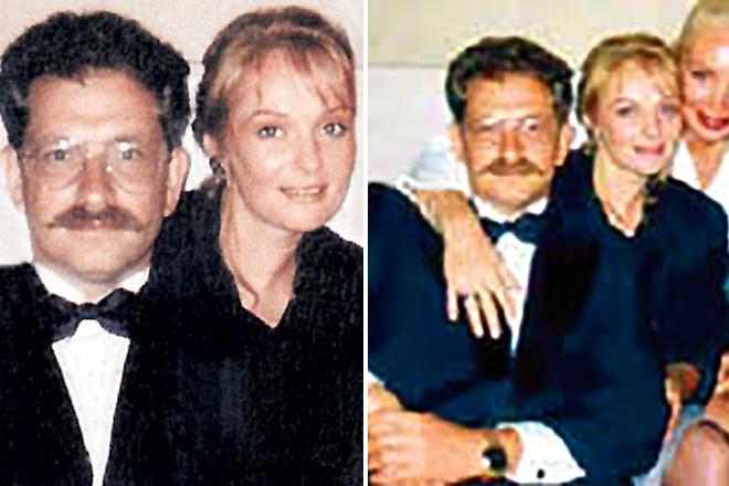 Ирина Цывина и Влад Листьев
