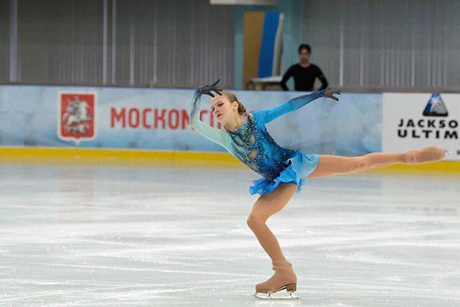 Фигуристка Александра Трусова