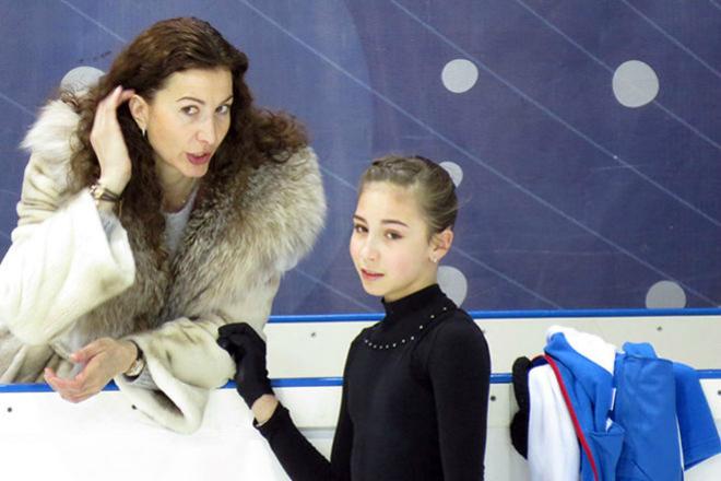 Диана Дэвис с мамой