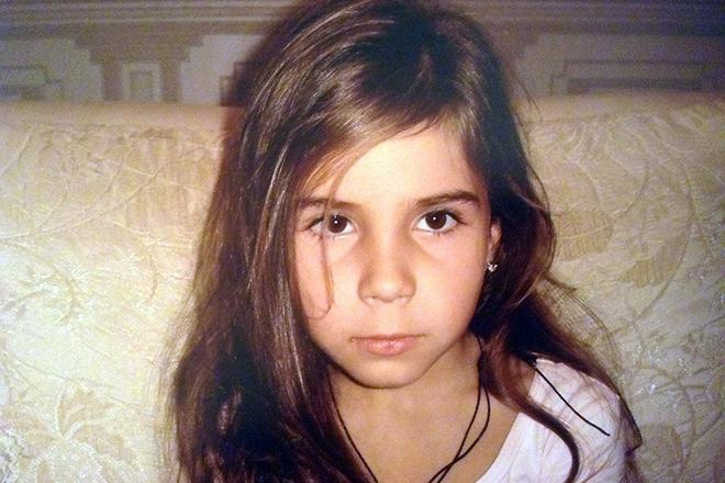 Диана Дэвис в детстве