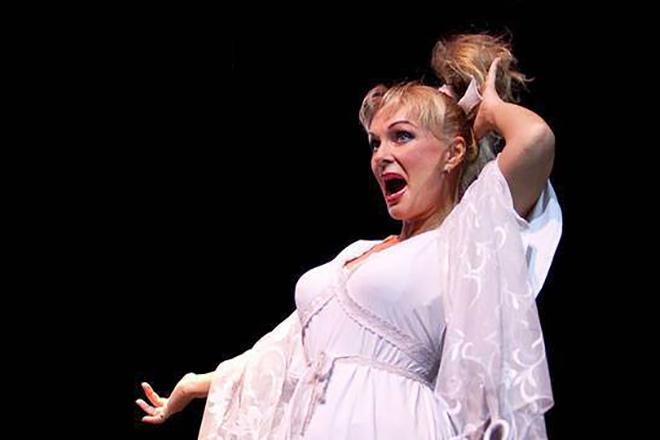 Ирина Цывина в театре