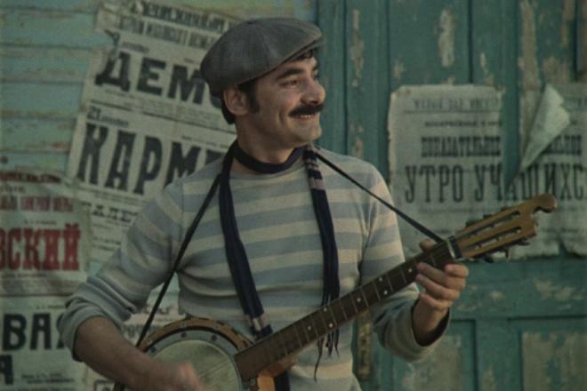 Александр Панкратов-Черный в фильме «Мы из джаза»