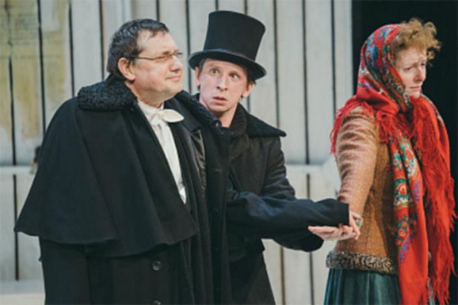 Дмитрий Лысенков в театре