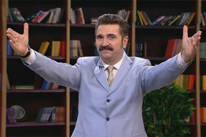 Телеведущий Валерий Комиссаров