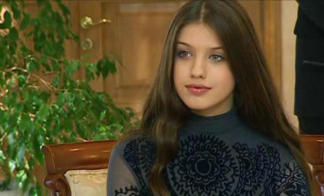 Анна Чиповская в юности