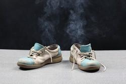 Плесень в обуви