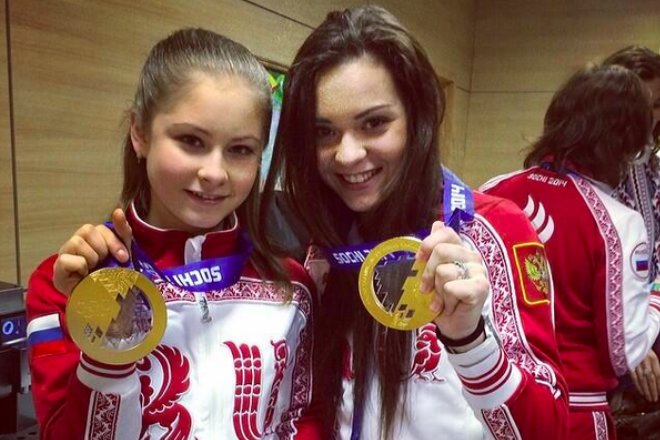 Юлия Липницкая и Аделина Сотникова