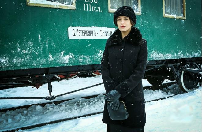Анна Чиповская в сериале «Хождение по мукам»