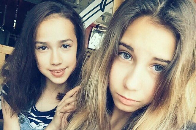 Диана Дэвис и Алина Загитова