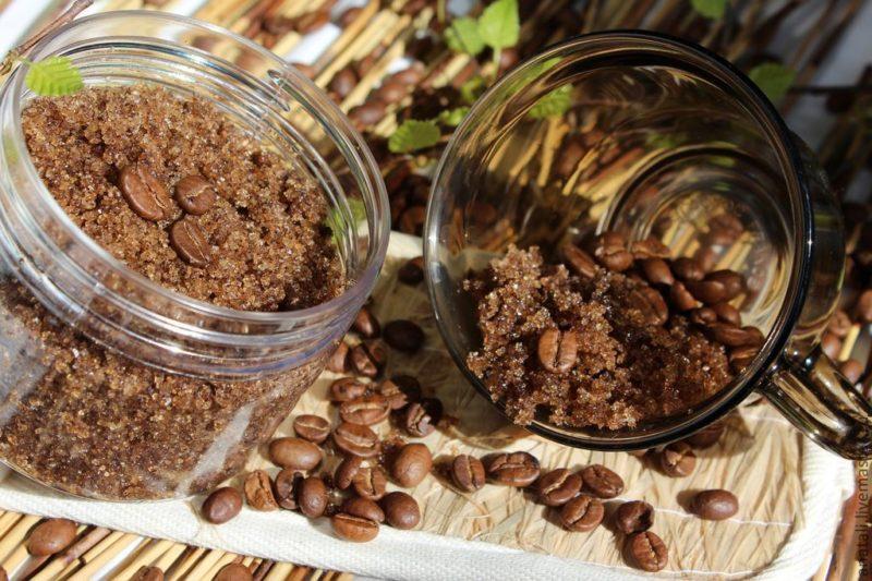 Скраб из кофе: способы приготовления в домашних условиях