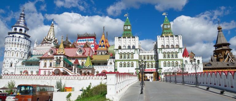 Куда пойти с ребёнком в Москве? Измайловский Кремль.