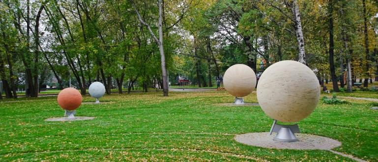 Куда пойти с ребёнком в Москве? Сад астрономов в парке «Сокольники»