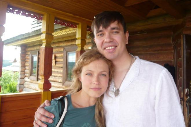 Эльвира Болгова с мужем Антоном