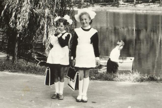 Ирина Билык в детстве