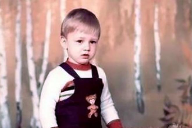 Алексей Потапенко (Потап) в детстве