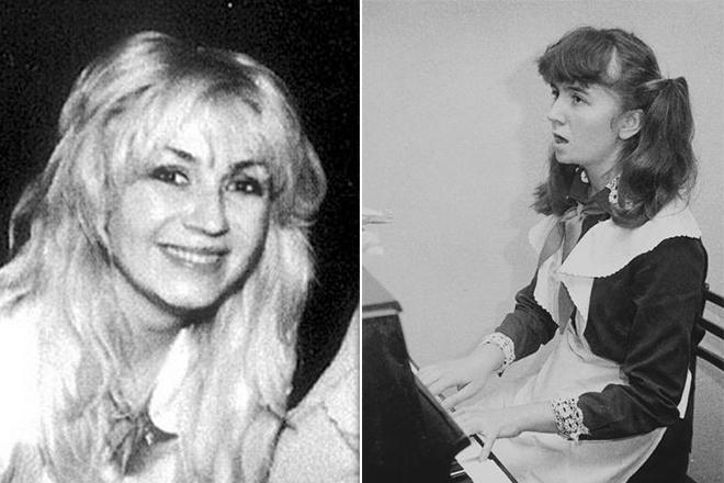 Ирина Билык в юности