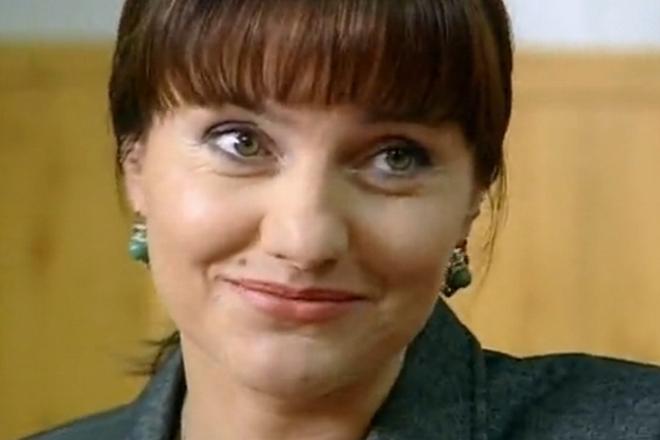 Инга Оболдина (кадр из сериала «Супруги»)