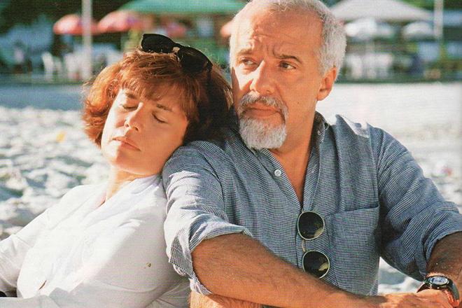Пауло Коэльо и его жена Кристина