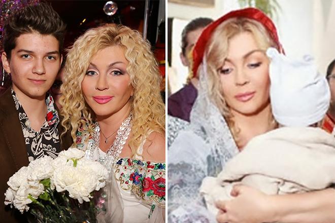 Ирина Билык с детьми