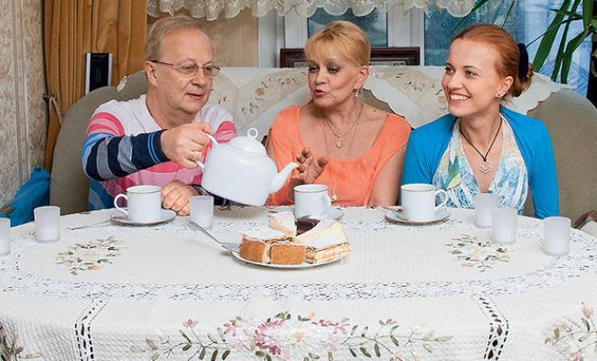 Ирина Шевчук и Александр Афанасьев с дочерью