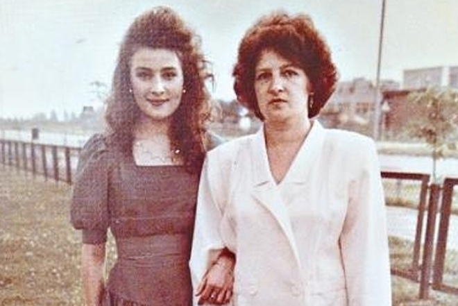 Жанна Бадоева с мамой