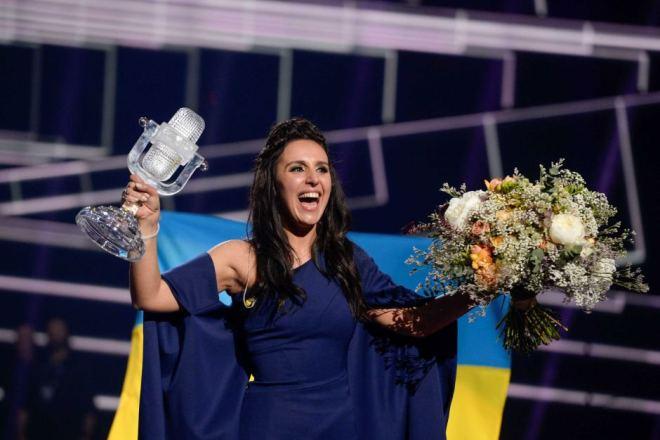 Джамала на «Евровидении-2016»
