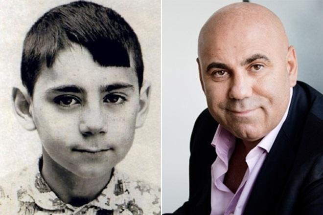 Иосиф Пригожин в детстве и сейчас