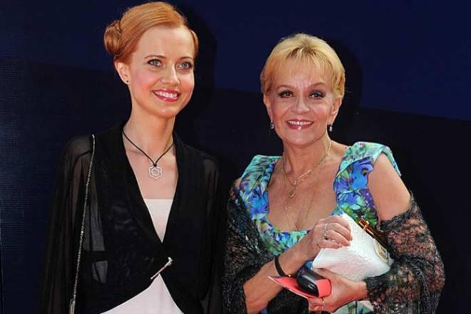 Ирина Шевчук с дочерью
