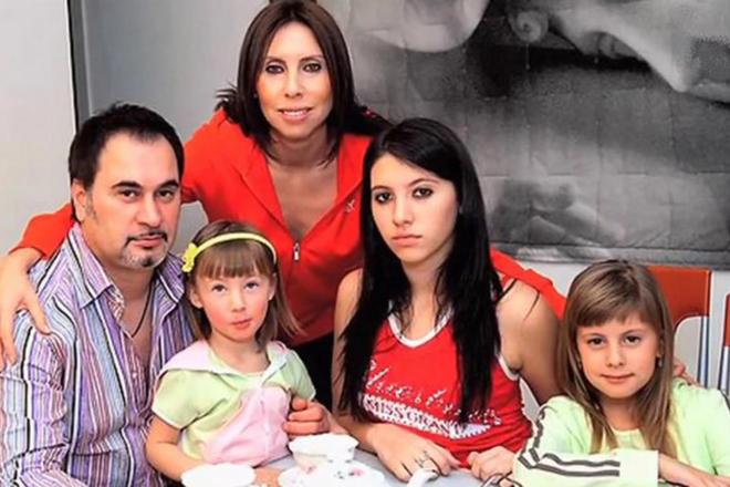 Ирина Меладзе с семьей