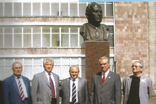 Открытие памятника Борису Щербине в г. Гюмри, Армения