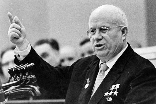 Глава СССР Никита Хрущев