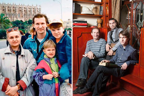три актера в семье