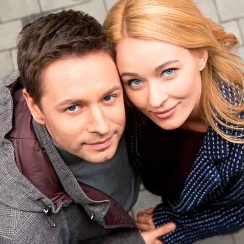 жена и муж актеры