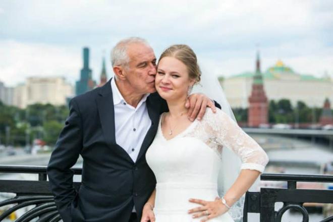 Сергей Гармаш с дочерью