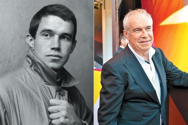 Сергей Гармаш в молодости и сейчас